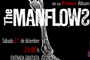 Cartel concierto The Manflows